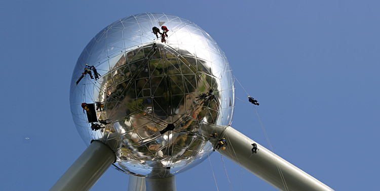 R�novation de l'Atomium<br>